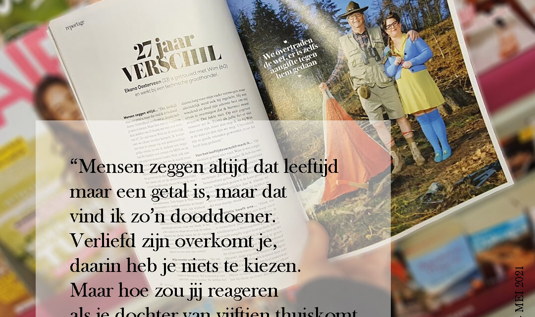 Interview in VROUW Glossy
